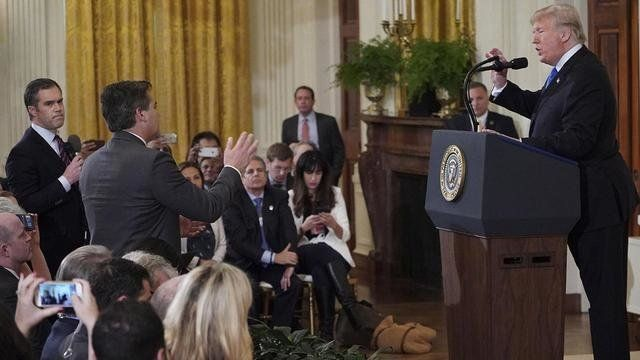 CNN Is Suing Donald Trump Over Jim Acosta Press
