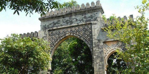 La porte marocaine de Hanoï au Vietnam avant sa