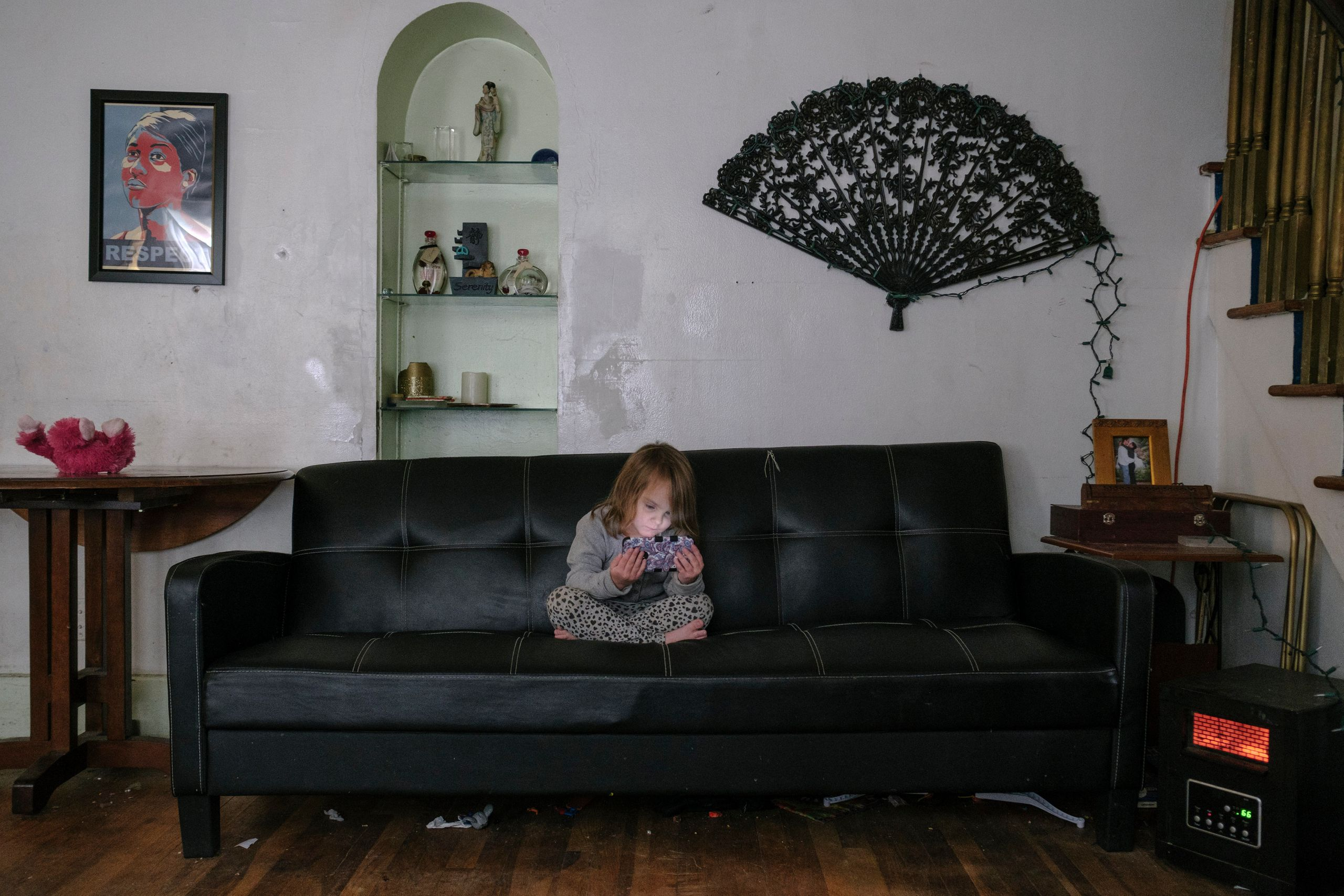 Families Squat In Abandoned Homes As The Housing Crisis Grips