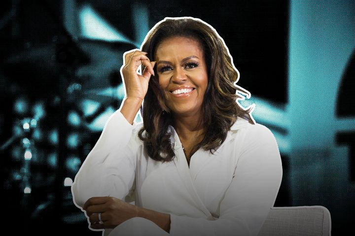 "Former first lady Michelle Obama, author of the new memoir ""Becoming."""