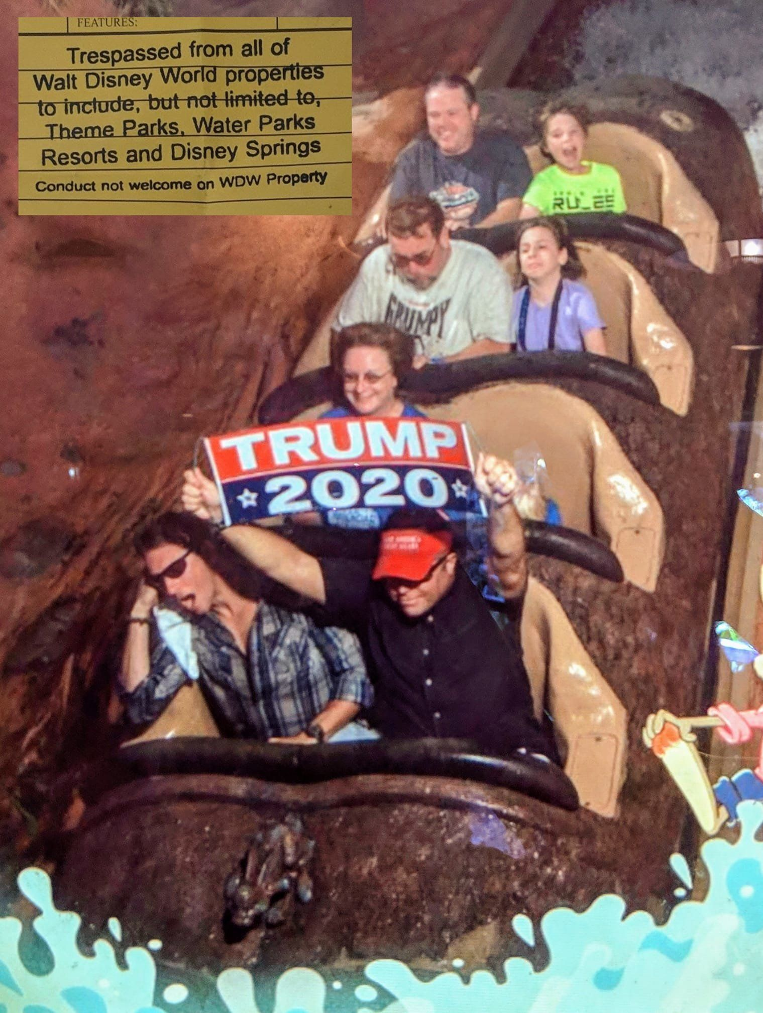 Trump supporter Dino Cini banned from Disney Parks