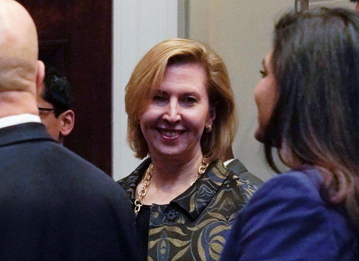 John Bolton named Mira Ricardel as his deputy in April.