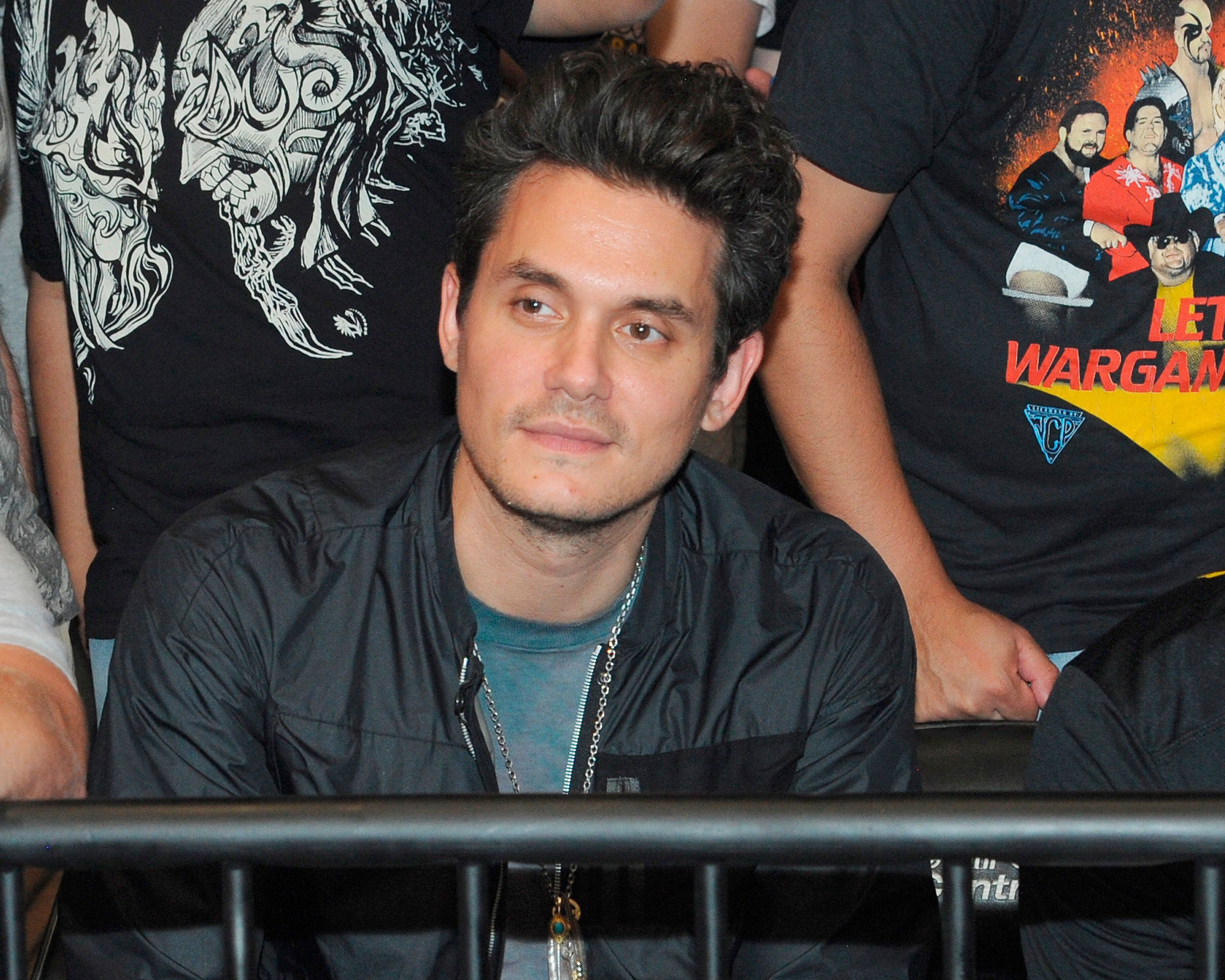 "NEW YORK, NY - September 1: Singer John Mayer attends the sold out ""All In"" Event at the Sears Centre on September 1, 2018 in Chicago, Illinois. Photo Credit: George Napolitano/MediaPunch /IPX"