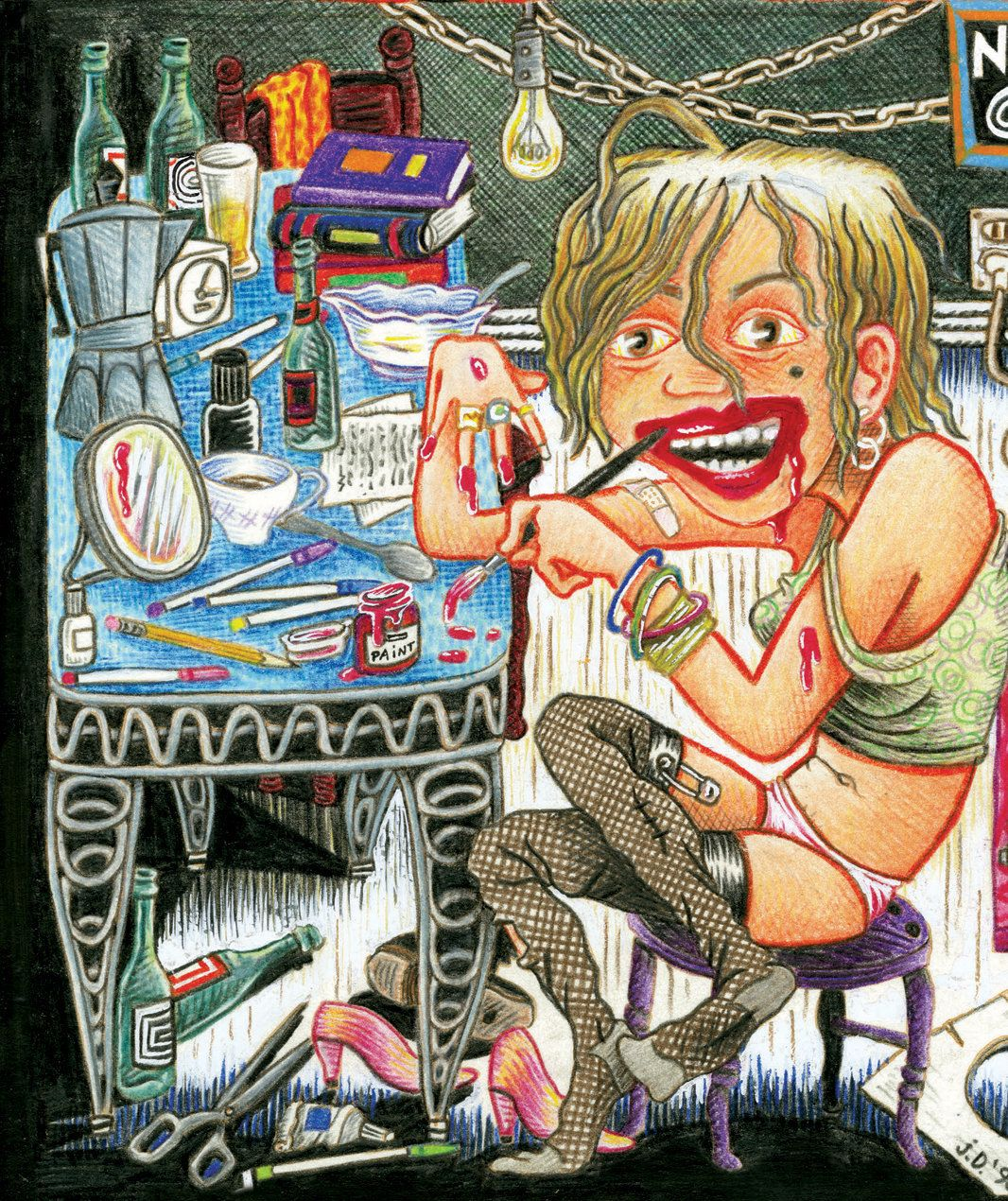 When she started drawing comics,Julie Doucet didn't think anyone would ever see her work,...