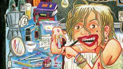 A cartunista considerada 'suja demais' para ser aceita nos anos