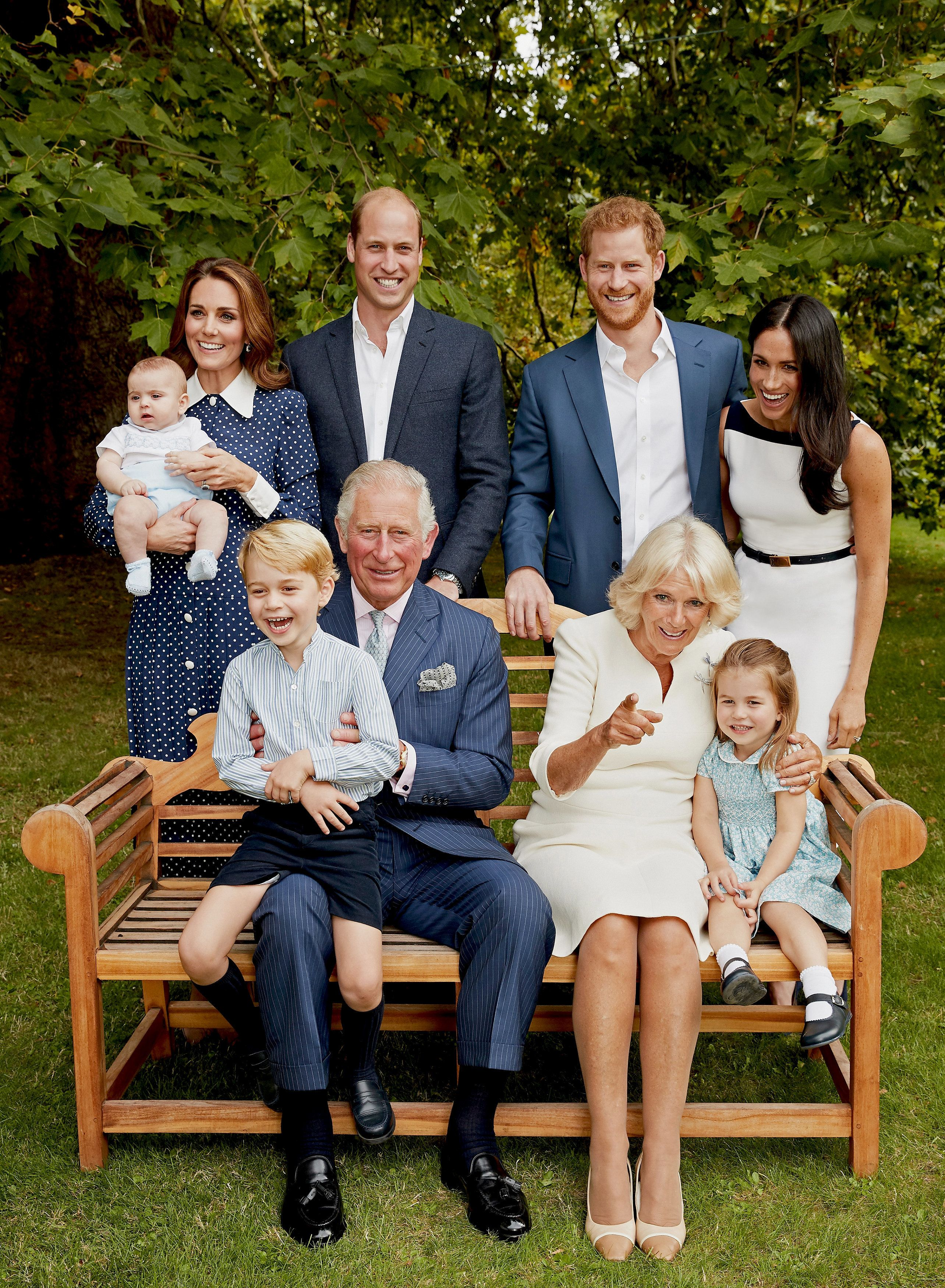 Prince Charles Celebrates 70th Birthday With Cute New Royal Family