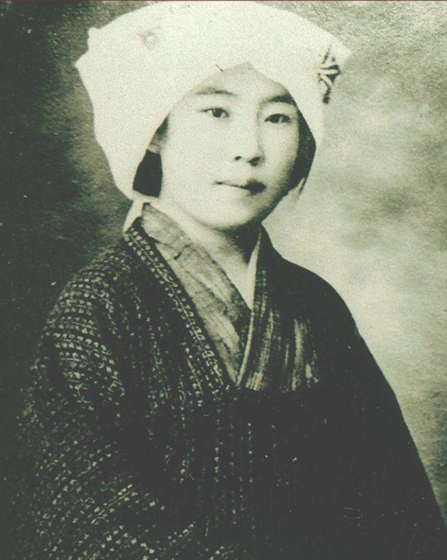 박열기념관에 남아 있는 가네코 후미코 여사의