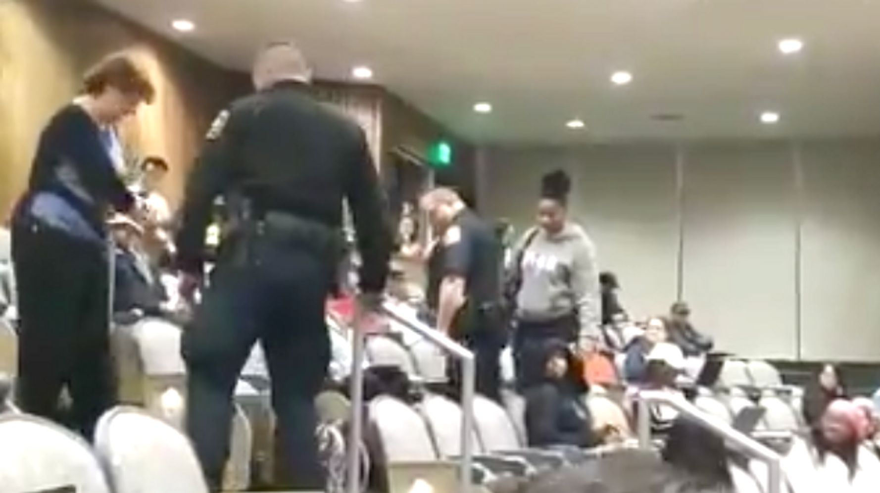 White Lecturer Who Called Cops On Black Student Wasn't