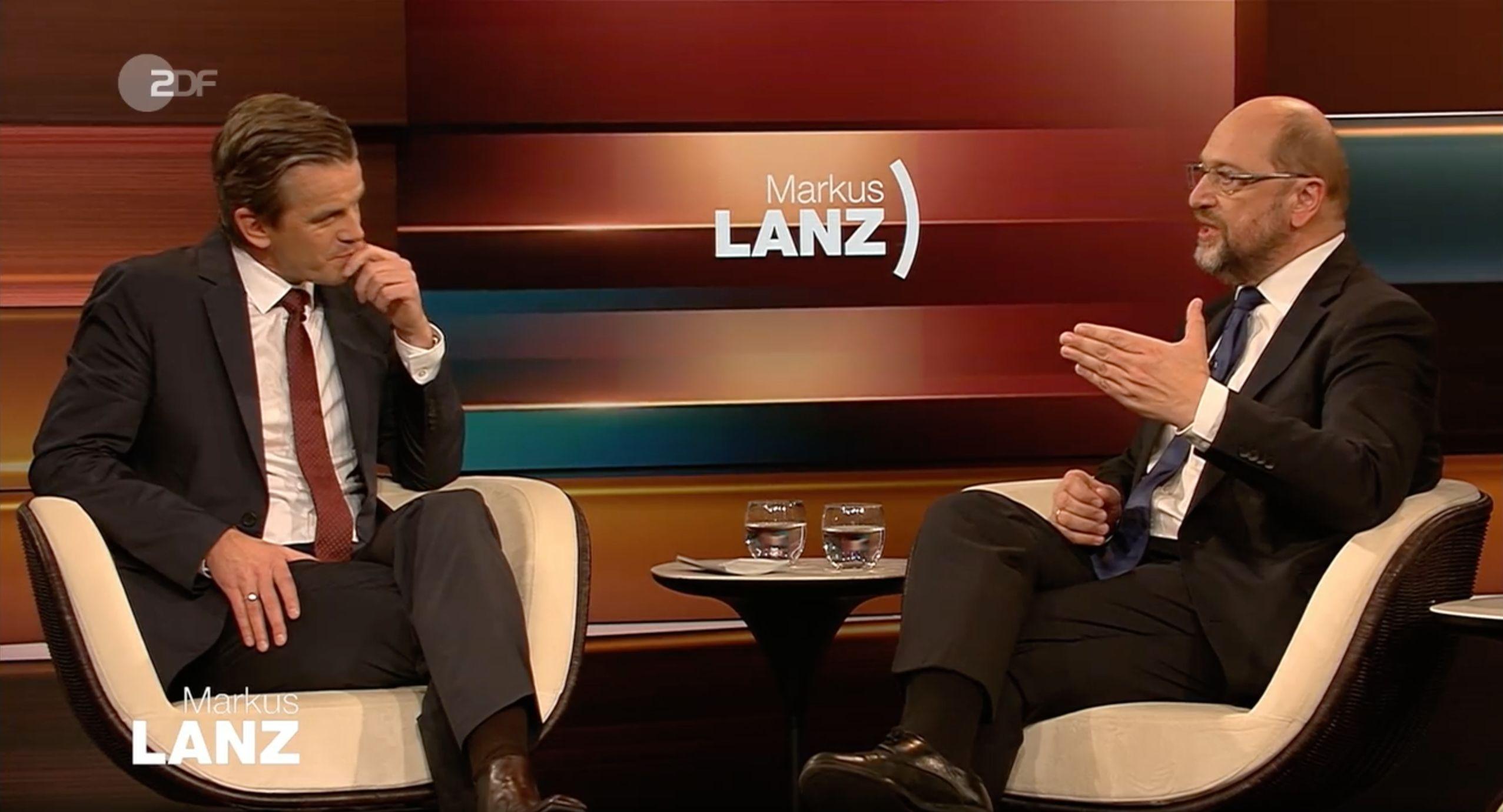 """""""Lanz"""": Schulz spricht über größten Fehler als SPD-Chef – und warnt Politiker"""