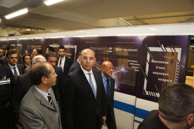 Métro d'Alger: inauguration de deux nouvelles
