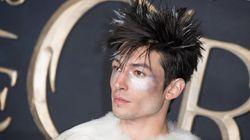 Ezra Miller Dressed As A Punk Rock Swan At The 'Fantastic Beasts' Premiere, And Fans Were Loving