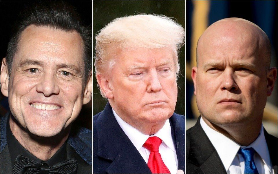 Carrey and Trump and Whitaker