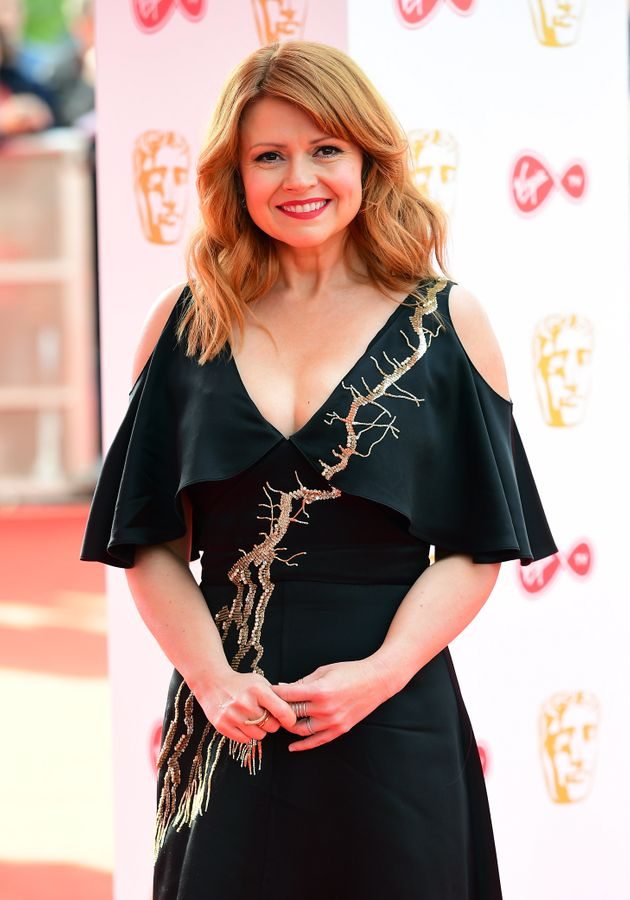 Sian Gibson at the