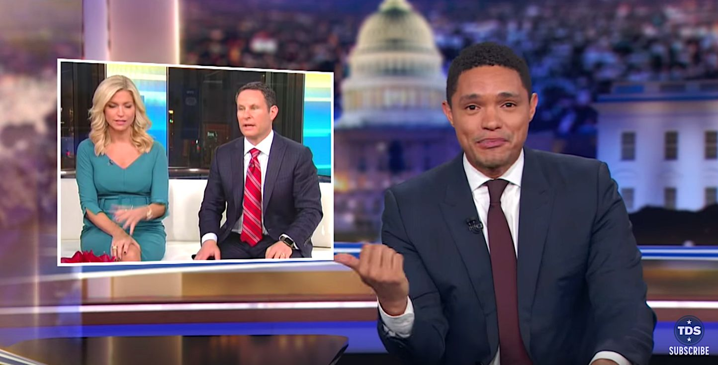 Trevor Noah: Ainsley Earhardt's Recount Remark 'Too Dumb' For 'Fox & Mates'