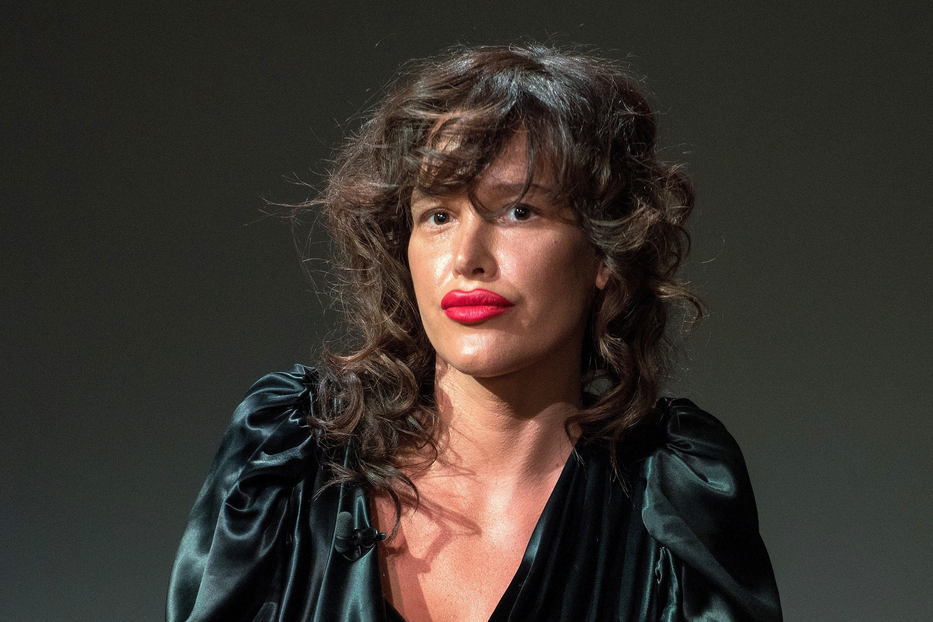 NEW YORK, NY - APRIL 20:  Actress Paz de la Huerta attends Apple Store Soho Presents Tribeca Film Festival: Natalia Leite, Alexandra Roxo, Dianna Agron, and Paz de la Huerta, 'Bare' at Apple Store Soho on April 20, 2015 in New York City.  (Photo by Mike Pont/WireImage)