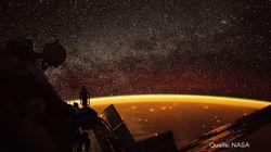Foto aus dem All zeigt Gluthimmel über der Erde und die NASA erklärt, was es