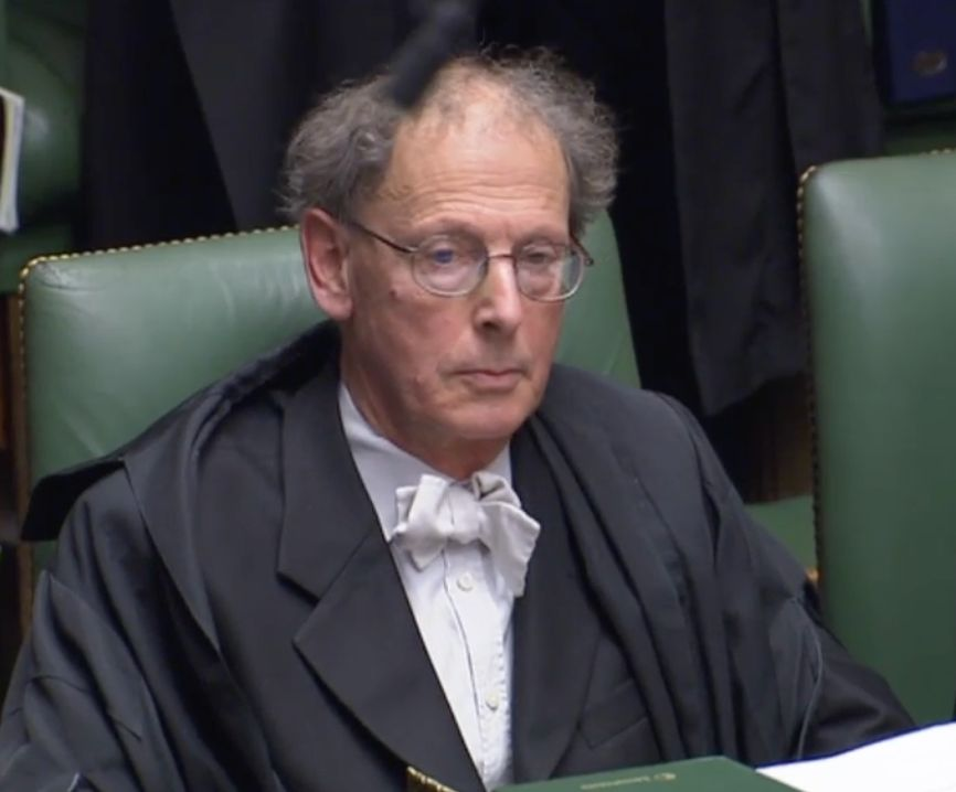 Top Commons Clerk 'Acknowledges Past Failings' As He Announces