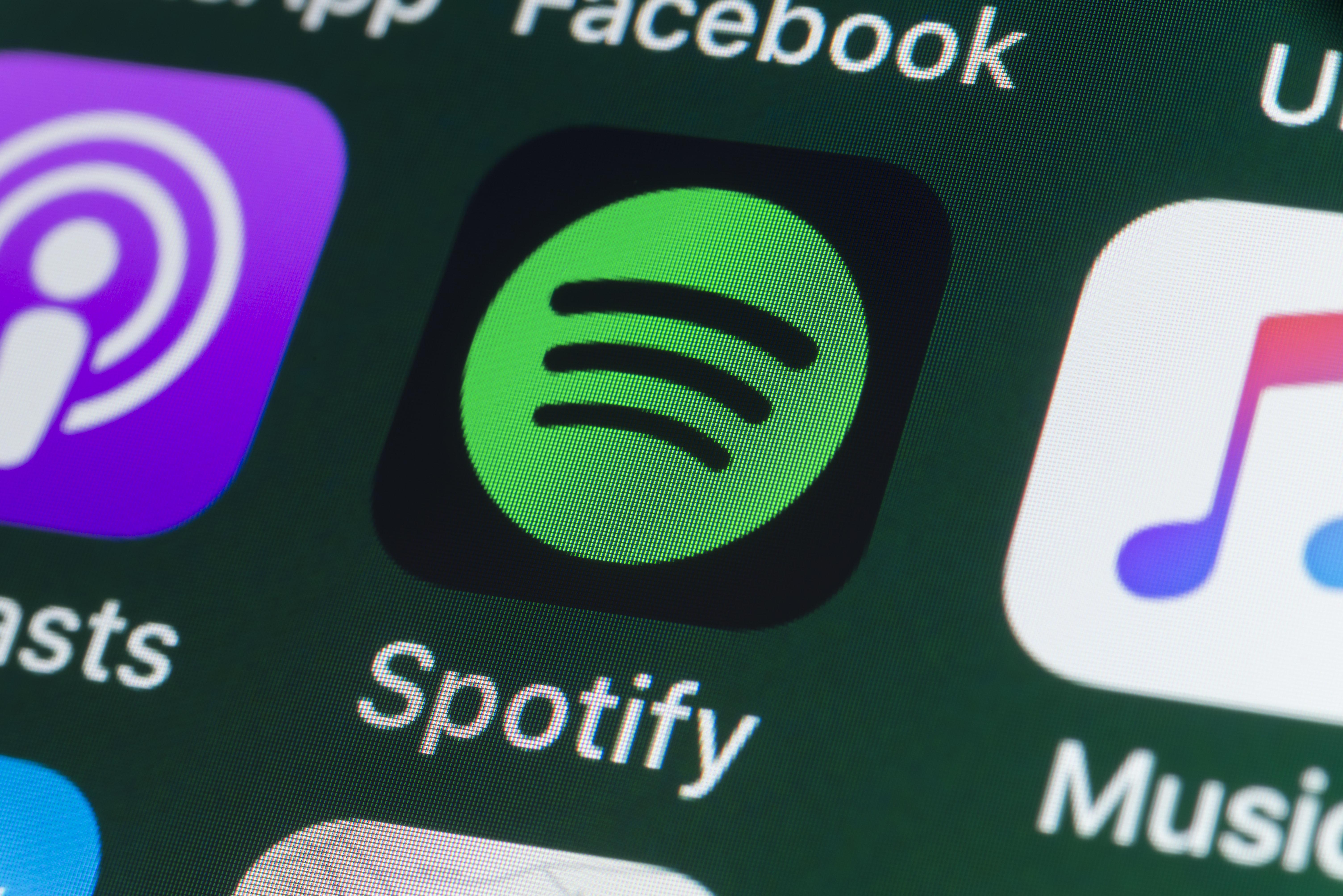 Le géant du streaming musical, Spotify, fait ses premiers pas en
