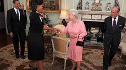 Michelle Obama gesteht, warum sie und Queen Elizabeth II. das royale Protokoll brachen
