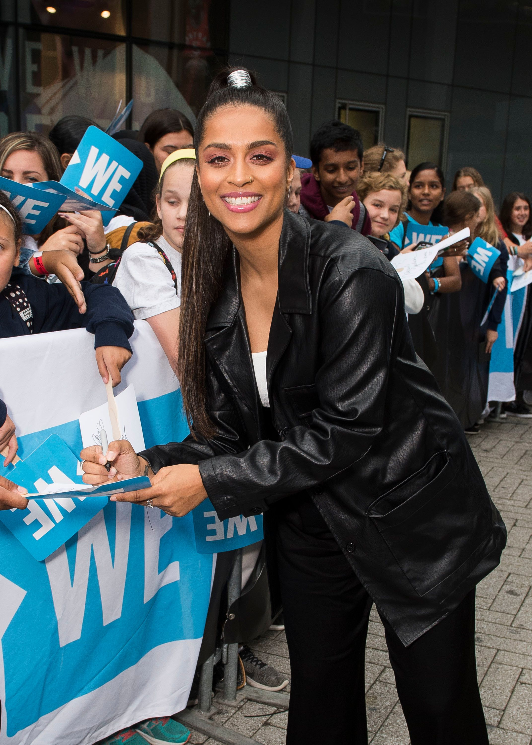 Lilly Singh arrives at WE Day on Thursday, Sept. 20, 2018, in Toronto. (Photo by Arthur Mola/Invision/AP)