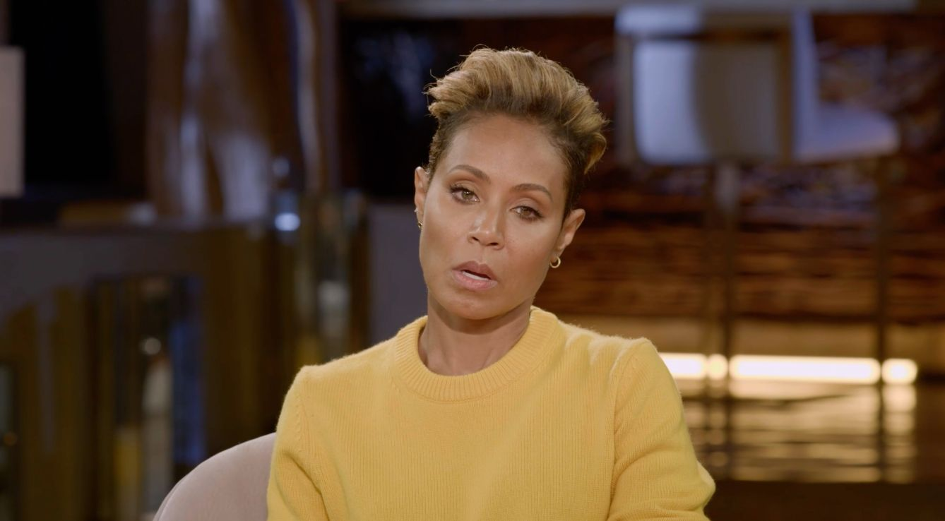 Jada Pinkett Smith opens up about 'white famile superiority' on new episode of Red Table Talks. Smith opens up about how she has issues of prejudice in her own life.