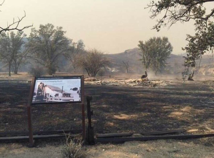 Southern California Wildfire Burns Most Of National Park In Santa Monica Mountains thumbnail