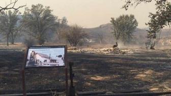Woolsey fire burns Santa Monica Mountains parkland