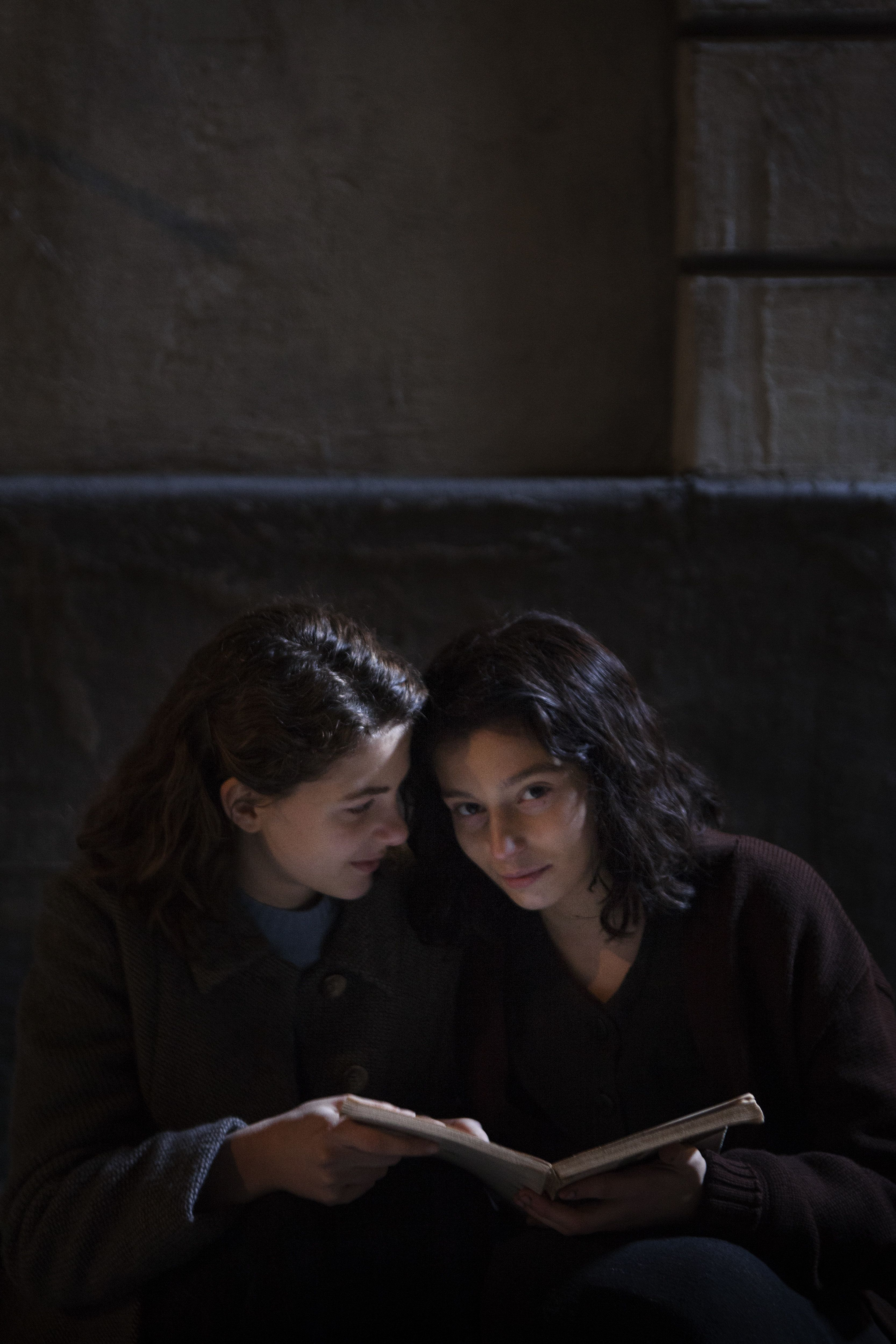 "Margherita Mazzucco as Lenù and Gaia Girace as Lila in ""My Brilliant Friend."""