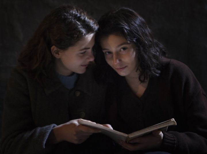 "Margherita Mazzucco as teenage Elena and Gaia Girace as teenage Lila in HBO's ""My Brilliant Friend."""