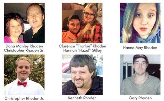 Rhoden Family murder suspects arrested