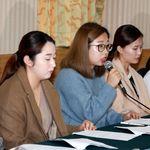 팀 킴이 '김민정 감독' 측의 해명에 반박하기 위해 기자회견을