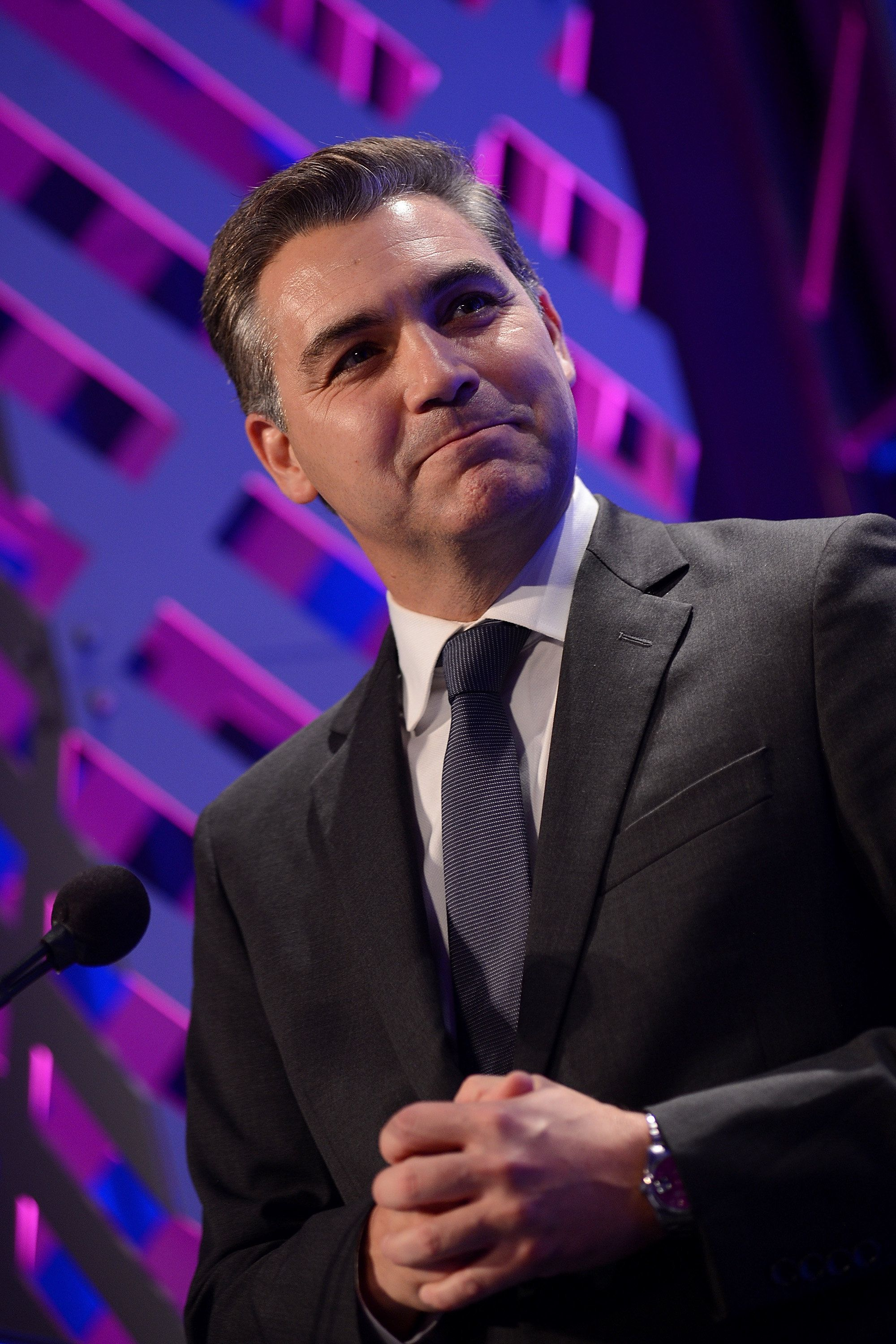 WASHINGTON, DC - SEPTEMBER 11:  CNN's Jim Acosta attends the National Hispanic Foundation for the Arts 2017 Noche de Gala at The Mayflower Hotel on September 11, 2017 in Washington, DC.  (Photo by Shannon Finney/Getty Images for National Hispanic Foundation For The Arts)