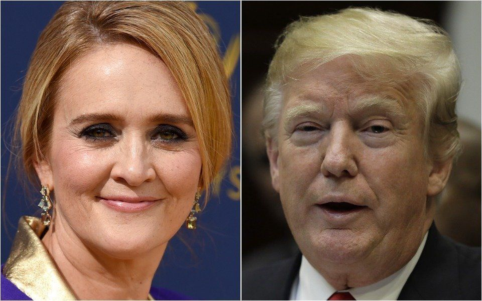 Samantha Bee and Donald Trump