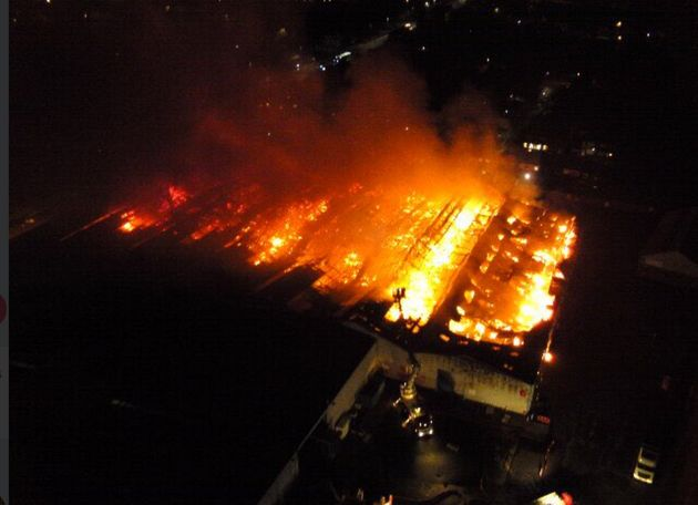 Little Hulton Fire: Residents Urged To Keep Doors And Windows Closed After Huge Factory