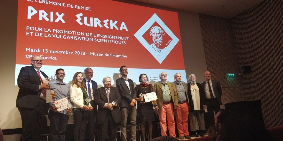 Le Tunisien Amjed Mouelhi remporte le prix international Eurêka