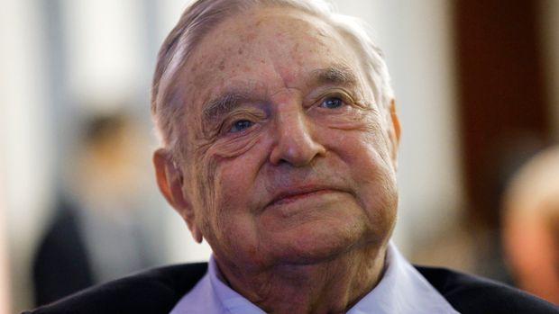 Foto tomada el 29 de mayo del 2018 del filántropo multimillonario George Soros en un evento en París. (AP Photo/Francois Mori, File)