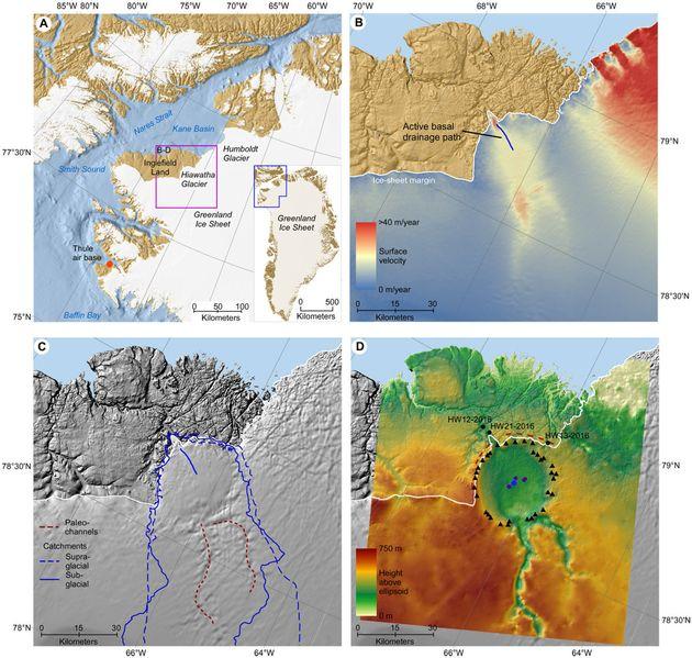 Γροιλανδία: Τεράστιος κρατήρας μετεωρίτη ανακαλύφθηκε κάτω από τόνους