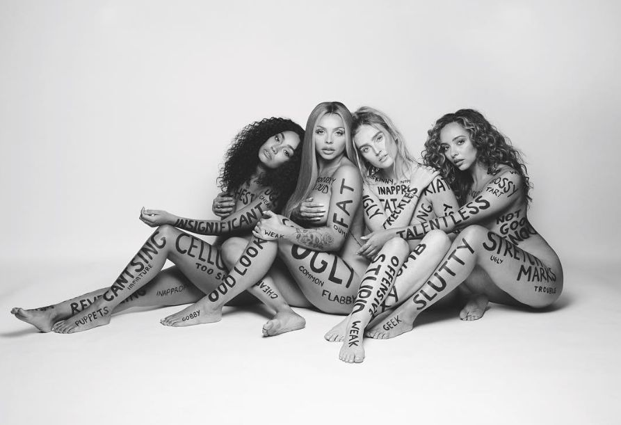 Little Mix Own Their Supposed 'Flaws' In Nude