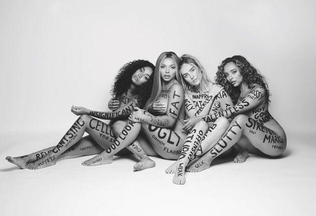 Little Mix in their 'Strip'