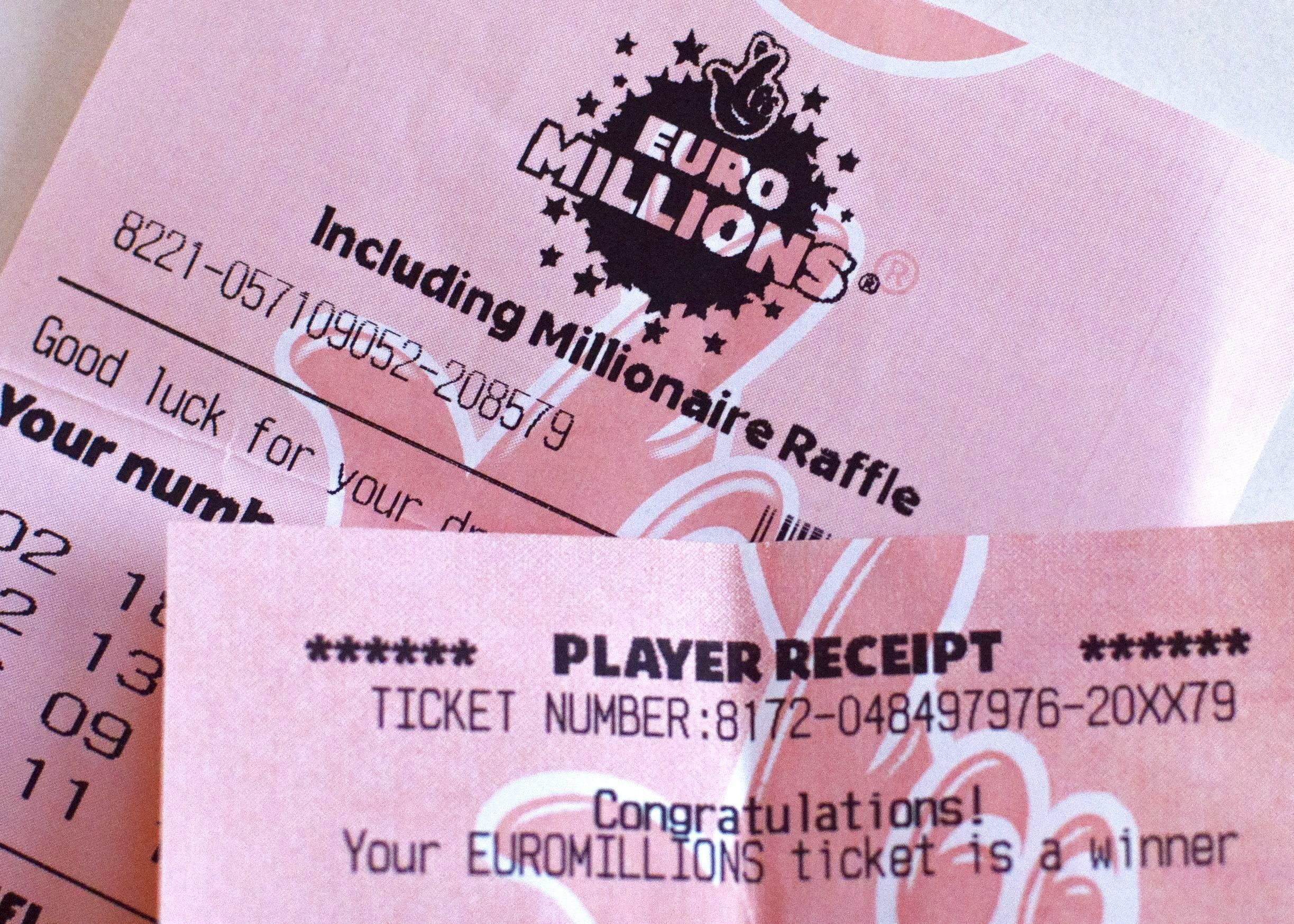 Lottery victor  yet to claim £76 million prize | Central