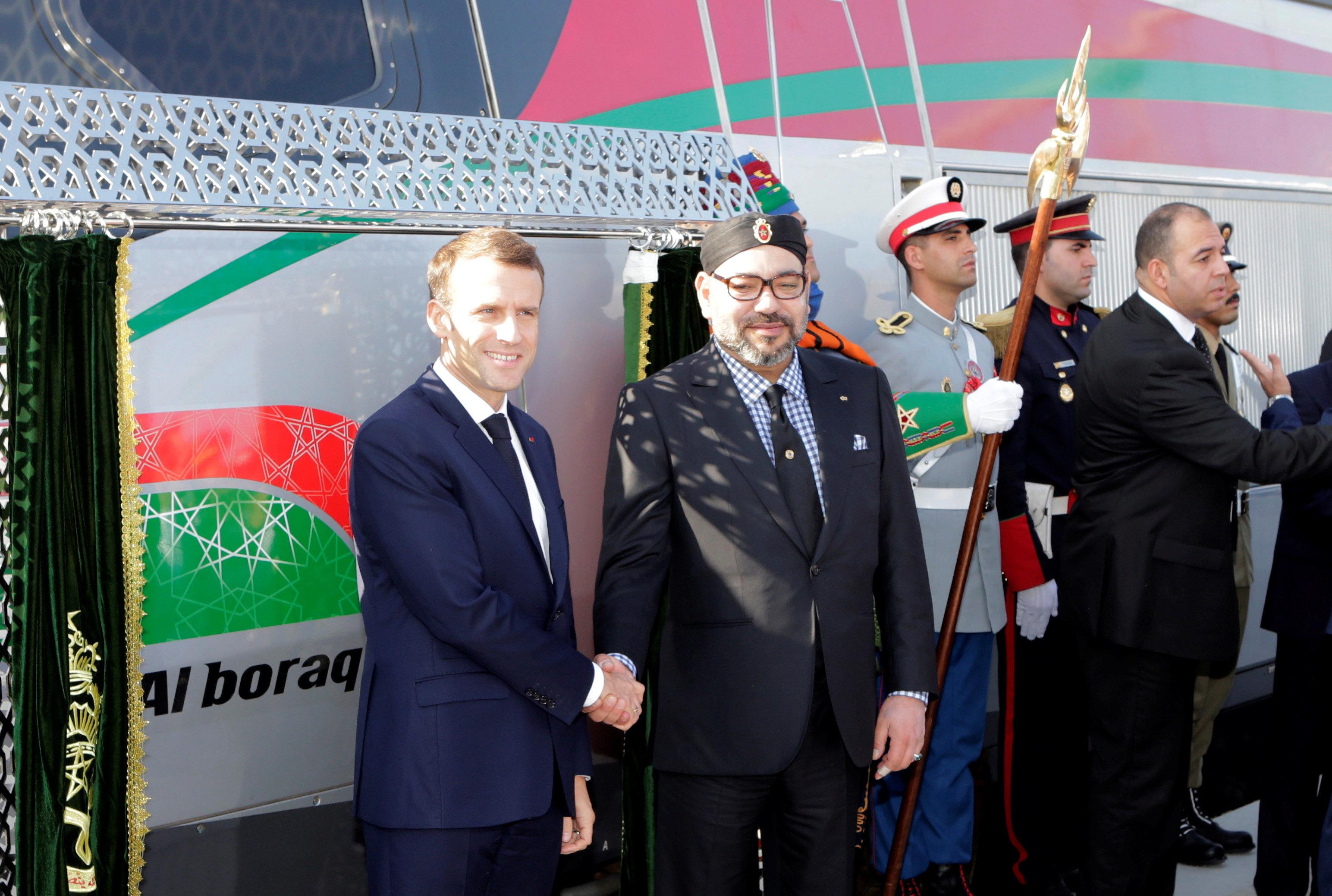 LGV: Les premières images de l'inauguration à Tanger du train à grande