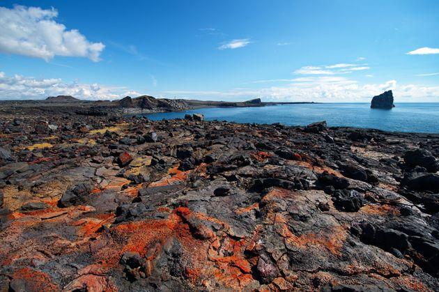 Icelandic lava