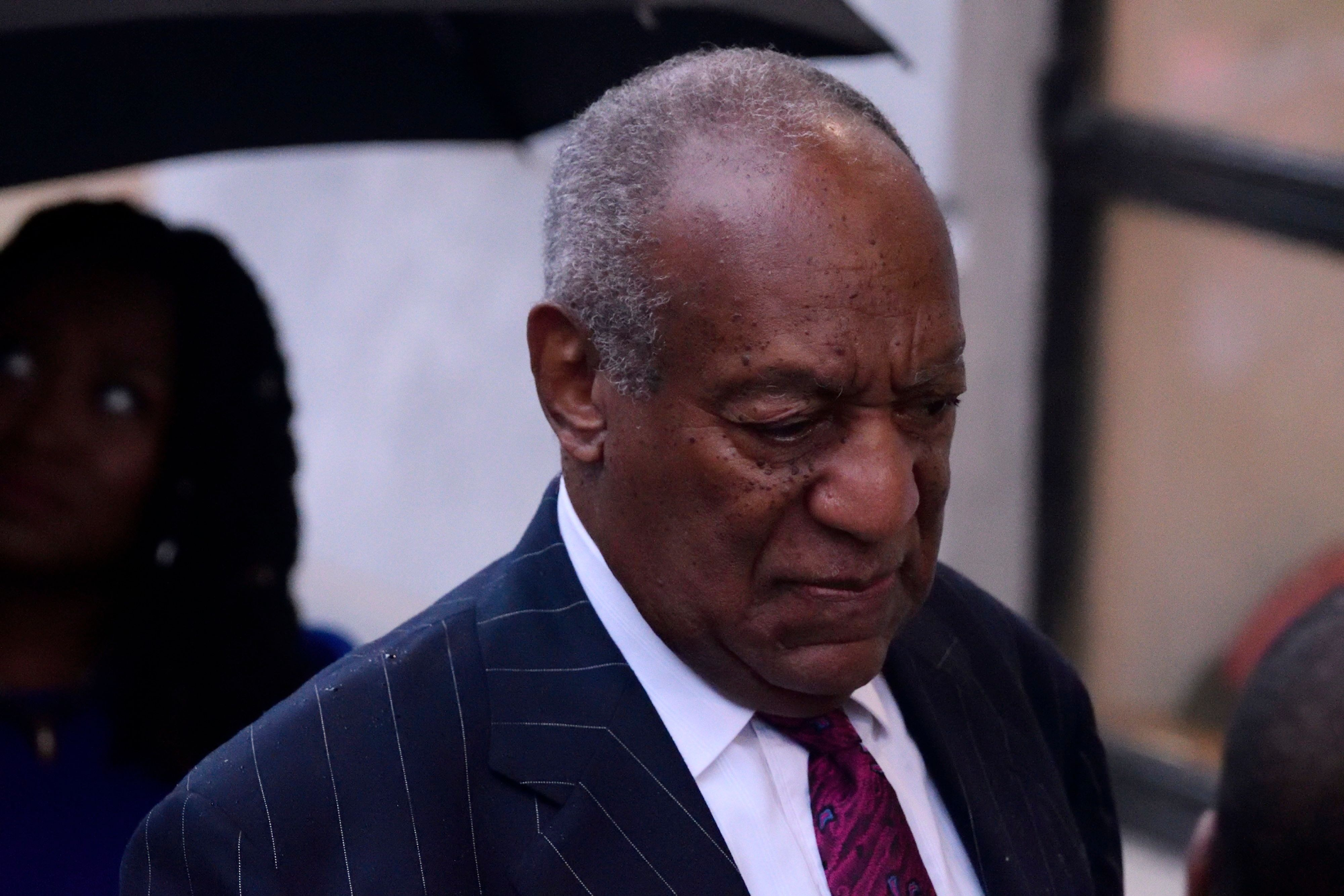 US Entertainer Bill Cosby arrives for a scenting hearing in Norristown, PA, on September 25, 2018. Cosby appears before Judge Steven O'Neil after a jury found the 81 year old entertainer guilty of three counts of aggravated indecent assault in a April 2018 retrial. (Photo by Bastiaan Slabbers/NurPhoto via Getty Images)