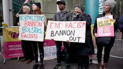 Protesting Steve Bannon Is Not About Free Speech, It's About Not Legitimising