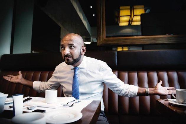 Undercover-Journalist und Terrorismus-Experte Shams Ul-Haq.