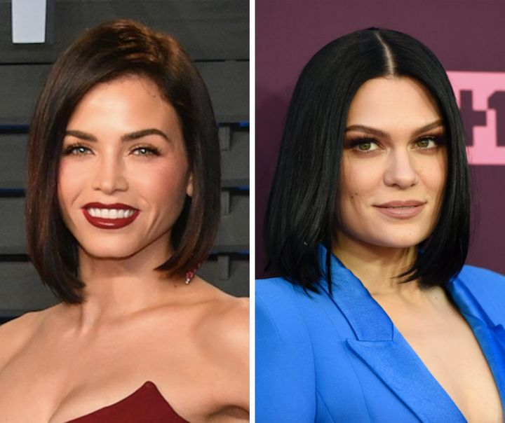 Jenna Dewan (left) and singer Jessie J (right). Do you think the two look similar?