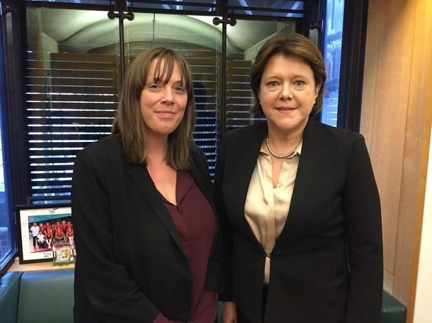 MPs Jess Phillips and Maria Miller