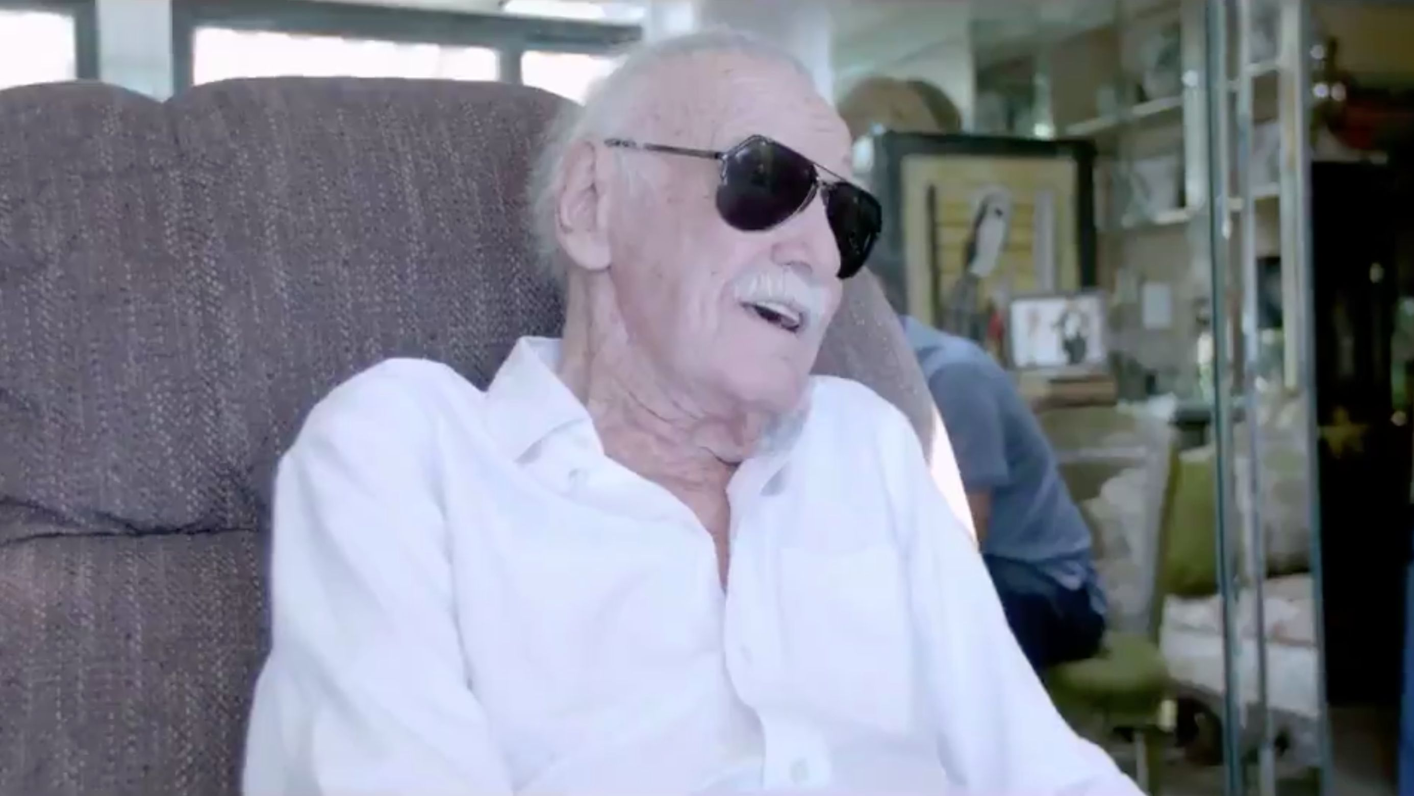 Stan Lee leaves heartwarming video message for his fans.