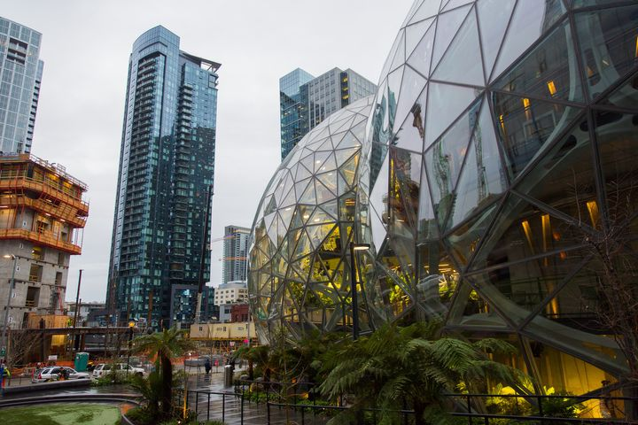 Amazon's Seattle campus.
