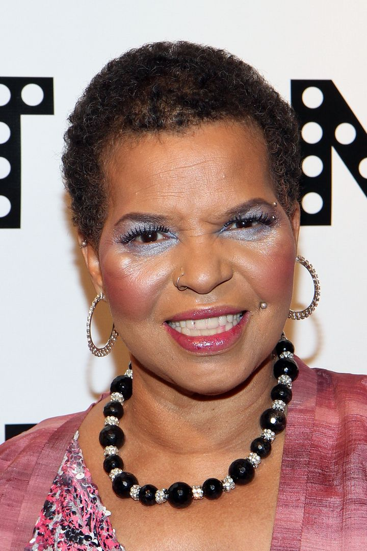 Playwright Ntozake Shange attends the Woodie King, Jr. New Federal Theatre 40th Anniversary Gala at the Edison Ballroom on Ma